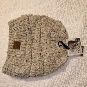 Brand new woven beanie